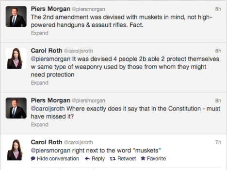 Piers Morgan OWNED