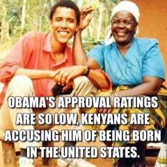 Kenya approval dropping