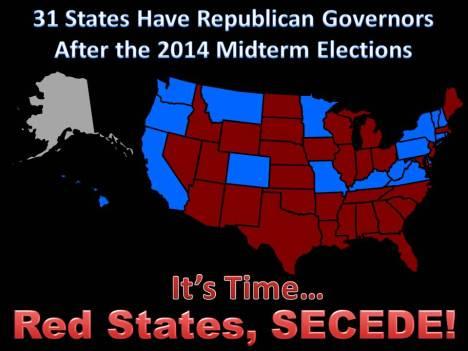 31 Republican States SECEDE