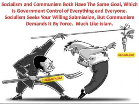 Socialism Communism Carrot and Stick