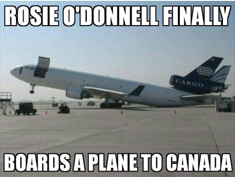 rosie-odonell-boards-plane-to-canada