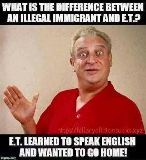 Illegal alien vs ET