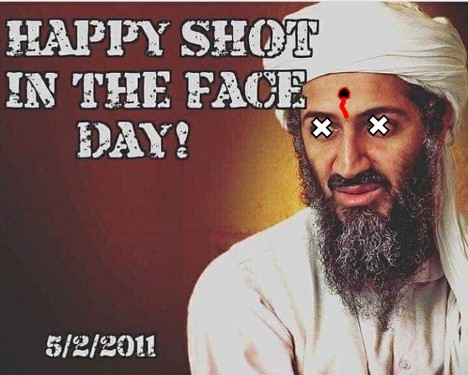 Happy Shot In The Face Day