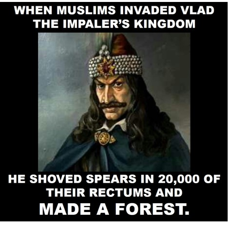 Vlad vs muslims