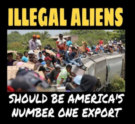 Illegals should be America's number 1 export